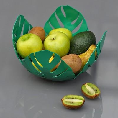"""Ваза для фруктов """"Монстера"""""""