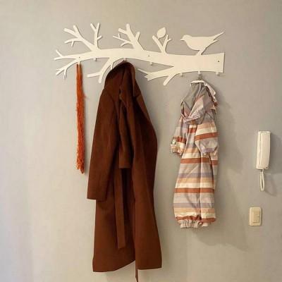"""Вешалка для верхней одежды """"Птица счастья"""""""