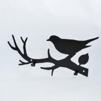 """Вешалка """"Птица на ветке"""""""