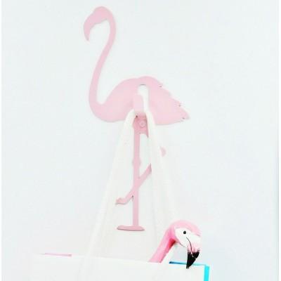 """Крючок """"Розовый фламинго"""""""